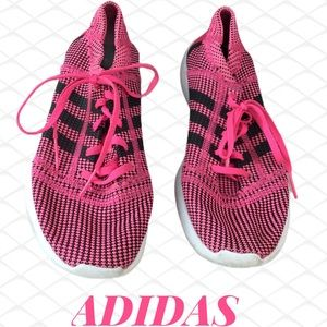 ADIDAS ELEMENT REFINE TRICOT Pink Running Trainers